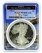 1986 S 1oz Silver Eagle Proof PCGS PR70 DCAM  - Bridge Frame