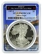 1987 S 1oz Silver Eagle Proof PCGS PR69 DCAM - Bridge Frame