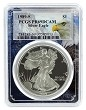 1989 S 1oz Silver Eagle Proof PCGS PR69 DCAM - Eagle Frame