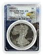 1990 S 1oz Silver Eagle Proof PCGS PR70 DCAM - Eagle Frame