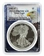 1993 P 1oz Silver Eagle Proof PCGS PR69 DCAM - Eagle Frame
