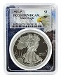 1993 P 1oz Silver Eagle Proof PCGS PR70 DCAM - Eagle Frame
