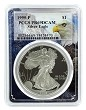 1995 P 1oz Silver Eagle Proof PCGS PR69 DCAM - Eagle Frame