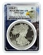 1996 P 1oz Silver Eagle Proof PCGS PR70 DCAM - Eagle Frame
