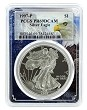 1997 P 1oz Silver Eagle Proof PCGS PR69 DCAM - Eagle Frame