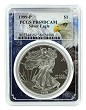 1999 P 1oz Silver Eagle Proof PCGS PR69 DCAM - Eagle Frame