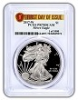 2017 W 1oz Silver Eagle Proof PCGS PR70 DCAM - First Day of Issue - 1 of 1000
