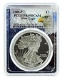 2000 P 1oz Silver Eagle Proof PCGS PR69 DCAM - Eagle Frame