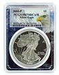 2000 P 1oz Silver Eagle Proof PCGS PR70 DCAM - Eagle Frame