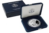 2002 W Proof 1oz Silver American Eagle
