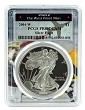 2004 W 1oz Silver Eagle Proof PCGS PR69 DCAM - West Point Frame