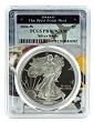 2004 W 1oz Silver Eagle Proof PCGS PR70 DCAM - West Point Frame