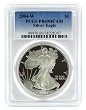 2004 W 1oz Silver Eagle Proof PCGS PR69 DCAM - Blue Label