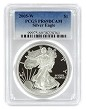 2005 W 1oz Silver Eagle Proof PCGS PR69 DCAM - Blue Label