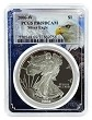 2006 W 1oz Silver Eagle Proof PCGS PR69 DCAM - Eagle Picture Frame