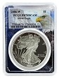 2006 W 1oz Silver Eagle Proof PCGS PR70 DCAM - Eagle Picture Frame