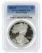 2006 W 1oz Silver Eagle Proof PCGS PR69 DCAM - Blue Label
