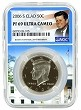 2006 S Kennedy Clad Half NGC PF69 Ultra Cameo - White House Core