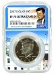 2007 S Kennedy Clad Half NGC PF70 Ultra Cameo - White House Core
