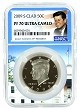 2009 S Kennedy Clad Half NGC PF70 Ultra Cameo - White House Core