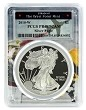 2010 W 1oz Silver Eagle Proof PCGS PR69 DCAM - West Point Frame