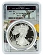 2011 W 1oz Silver Eagle Proof PCGS PR69 DCAM - West Point Frame