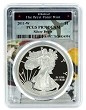 2011 W 1oz Silver Eagle Proof PCGS PR70 DCAM - West Point Frame