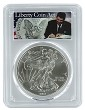 2011 1oz Silver Eagle PCGS MS69 - Liberty Coin Act Label