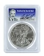 2011 1oz Silver Eagle PCGS MS70 - Verified By David Hall