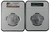 2013 P 5oz Silver Fort McHenry National Park Coin NGC SP70