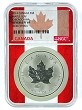 2014 Canada 1oz Silver Maple Leaf Chicago ANA Privy NGC Reverse Proof PF69 - Flag Core