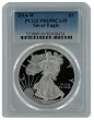 2014 W 1oz Silver Eagle Proof PCGS PR69 DCAM - Blue Label
