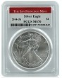 2014 (s) 1oz Struck at San Francisco Silver Eagle PCGS MS70