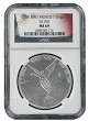 2015 Mexico 1oz Silver Onza Libertad NGC MS69 - Flag Label