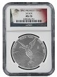 2015 Mexico 1oz Silver Onza Libertad NGC MS70 - Flag Label