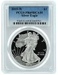 2015 W 1oz Silver Eagle Proof PCGS PR69 DCAM - Blue Label