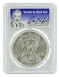 2015 1oz Silver Eagle PCGS MS70 - Verified By David Hall