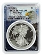 2015 W 1oz Silver Eagle Proof PCGS PR70 DCAM - Eagle Picture Frame
