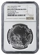2015 Rwanda 1oz Silver African Buffalo Coin NGC Brilliant Uncirculated - Brown Label