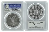 2015 Mexico 1oz Silver Onza Libertad PCGS MS70 - Verified By David Hall