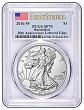 2016 W Burnished Silver Eagle PCGS SP70 - First Strike Label - Presale