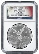 2016 Mexico 1oz Silver Onza Libertad NGC MS69 - Early Releases - Flag Label