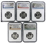 2016 S National Park Clad Quarter Set NGC PF70 Ultra Cameo - Early Releases
