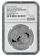 2016 Niue by New Zealand Mint 1oz Silver Year Of Monkey NGC - Brilliant Uncirculated