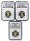 2016 S Presidential Dollar Three Coin Set NGC PF69 Ultra Cameo