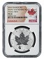 2016 Canada 1oz Silver Reverse Proof Maple Leaf w/ Panda Privy NGC PF69 - Flag Label