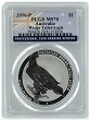 2016 Australia 1oz Silver Wedge Tailed Eagle PCGS MS70 - Flag Label