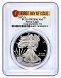 2017 S 1oz Congratulations Set Proof Silver Eagle PCGS PR70 DCAM - First Day Issue