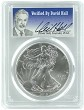 2016 1oz Silver Eagle PCGS MS70 - Verified By David Hall