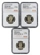 2016 S Presidential Dollar Three Coin Set NGC PF69 Ultra Cameo - ANA 125th Anniversary